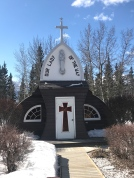 The most photographed church in the Yukon